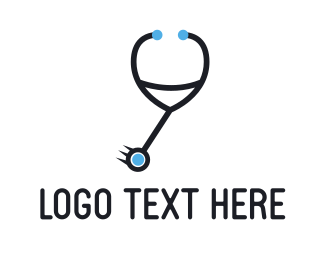 Stethoscope - Doctor Pendulum logo design