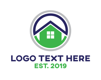 Home - Home Security  logo design