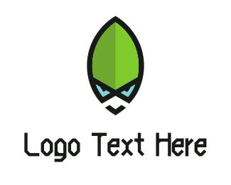 Future - Green Alien logo design