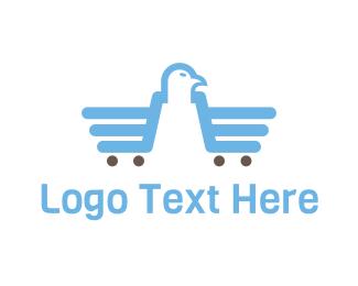 Sale - Eagle Market logo design
