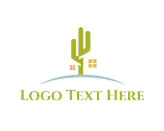 Desert - Desert Cactus logo design