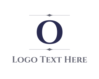 """Elegant Letter O"" by BrandCrowd"