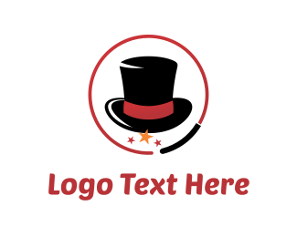 Magic - Ringmaster Hat logo design
