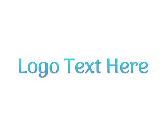Preschooler - Gradient Blue logo design