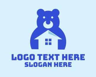 Day Care - Black Toy House logo design