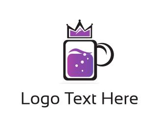 Soda - Royal Drink logo design