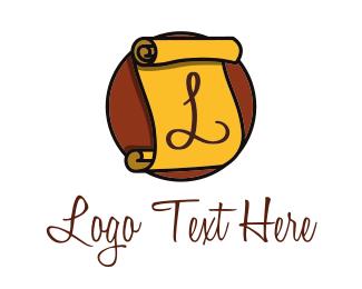 Leasing - Paper Sheet logo design