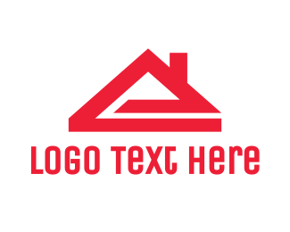 Home - Red E House logo design