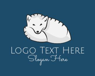 Polar - Arctic Fox logo design
