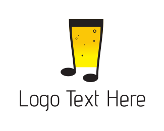 Tune - Musical Beer logo design