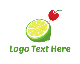Citric - Cherry Lemonade logo design