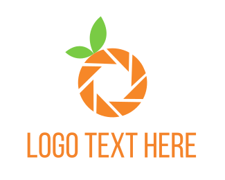 Photo Booth - Photo Orange logo design