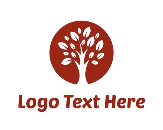 Yard - Brown Tree logo design