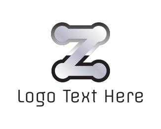 """Metal Letter Z"" by logodesignercsocso"