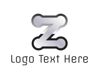 Welding - Metallic Letter Z logo design