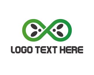 Infinite - Infinite Alien logo design