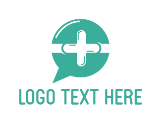 Nurse - Medical Chat  logo design