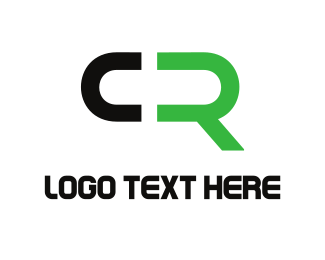 Letter C - C & R logo design