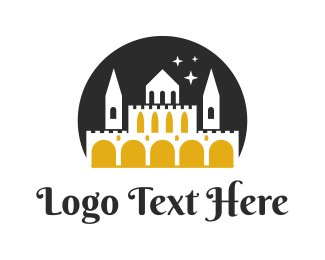 Fairy Tale - Midnight Castle logo design