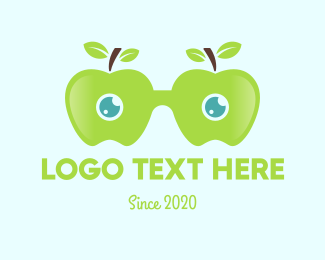 Apple - Apple Eyeglasses logo design