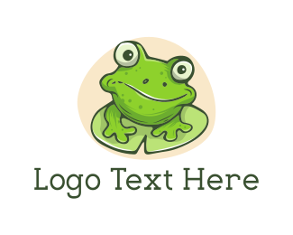 Frog - Green Frog logo design