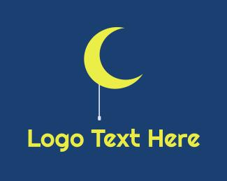Lantern - Moon Light logo design