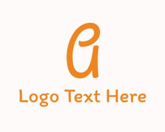 Children - Friendly Letter A logo design
