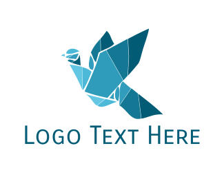 Business - Mosaic Bird logo design