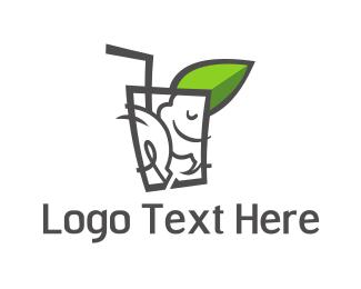 Straw - Fresh Idea logo design