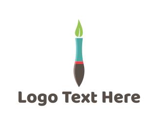 Paint - Eco Pen logo design