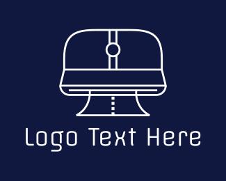 Printing - White Printer logo design