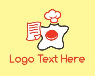 Egg - Chef Egg  logo design