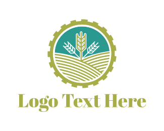 Farmer - Agriculture Gear logo design