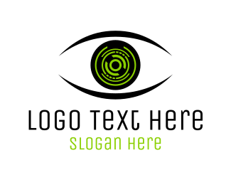 Sight - Eye & Technology logo design
