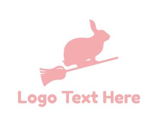 Rabbit - Brrom & Bunny logo design