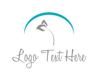 Feminine - Flower Arc logo design