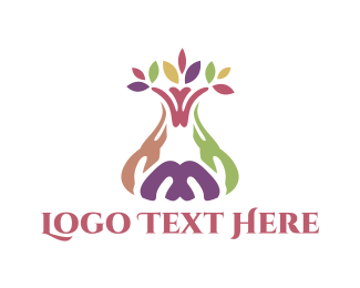 Spa - Colorful Tree logo design