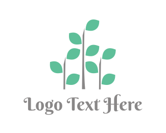 Plant - Abstract Plant  logo design
