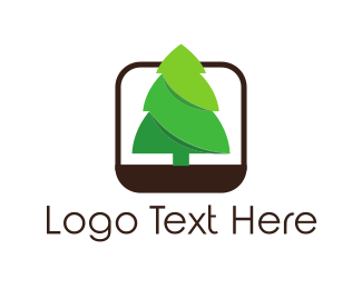Ecology - Pine Tree logo design