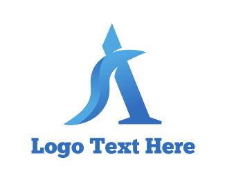 Sky Blue - Blue Wave A logo design