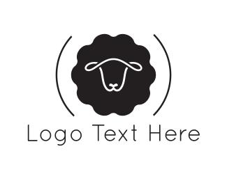 Cattle - Black Sheep logo design