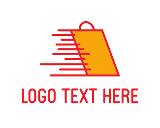 Shop - Fast Shopping logo design