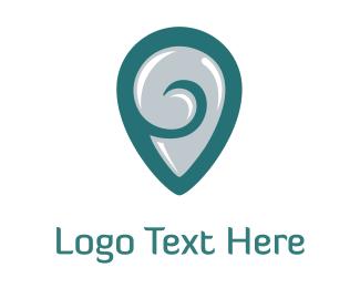 Shell - Snailshield logo design