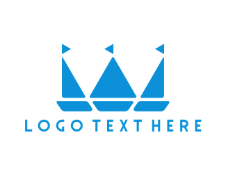 Boat - Royal Boats logo design