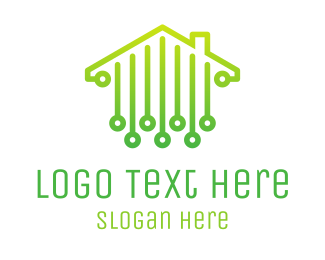 Roofing - Digital House logo design