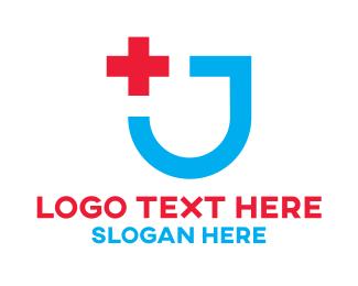 First Aid - Medical Shield logo design