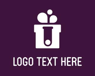 Experiment - Lab Gift logo design