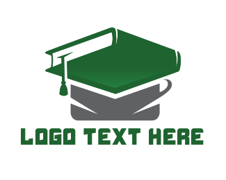 School - Graduation Book logo design