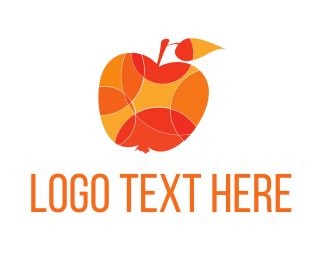 Fruit - Sunny Fruits logo design