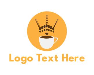Coffee - Coffee Crown logo design